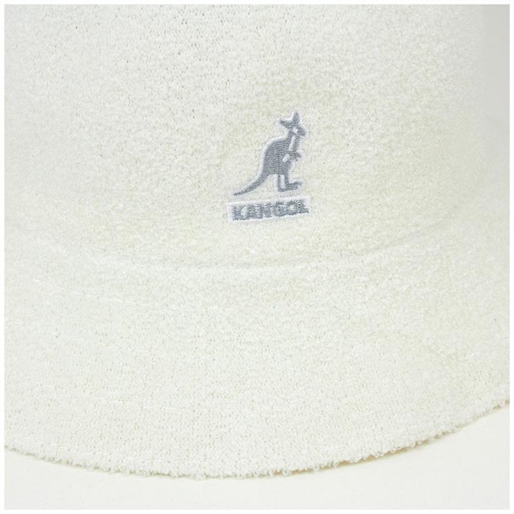 KANGOL 的帽子百慕達休閒白色帽子 KANGOL 帽子百慕達休閒白色 [大尺寸男裝]、 [WH] #HA: O 10P03Dec16