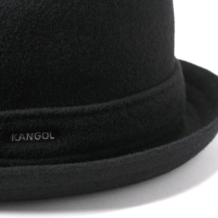 KANGOL Hat wool player black KANGOL WOOL PLAYER BLACK