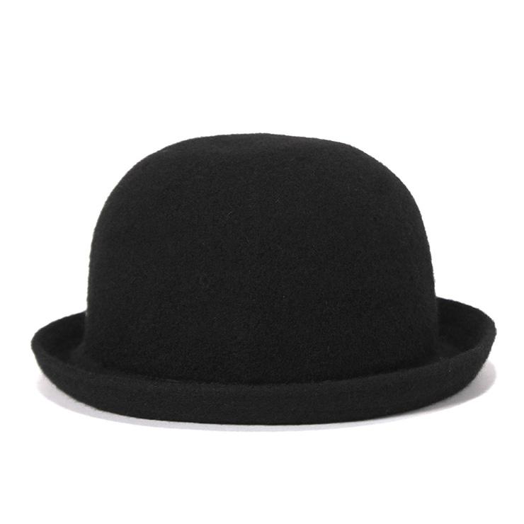 カンゴール ボウラーハット ウール BOMBIN ブラック KANGOL ぼうし ブランド おしゃれ 無地 シンプル メンズハット レディースハット メンズ帽子 レディース帽子 秋 冬 秋冬 秋冬用 黒 メンズレディース帽子