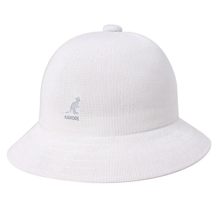 KANGOL 帽子热带休闲白色帽子 KANGOL 帽子热带休闲白色 [帽子女士大尺寸男士] [WH] #HA: O