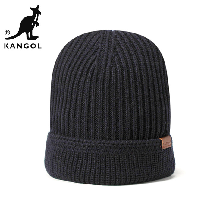 buy popular 84340 71aed ... uk kangol knit caps knitting hat squad free dark blue hats kangol knit  cap squad fully