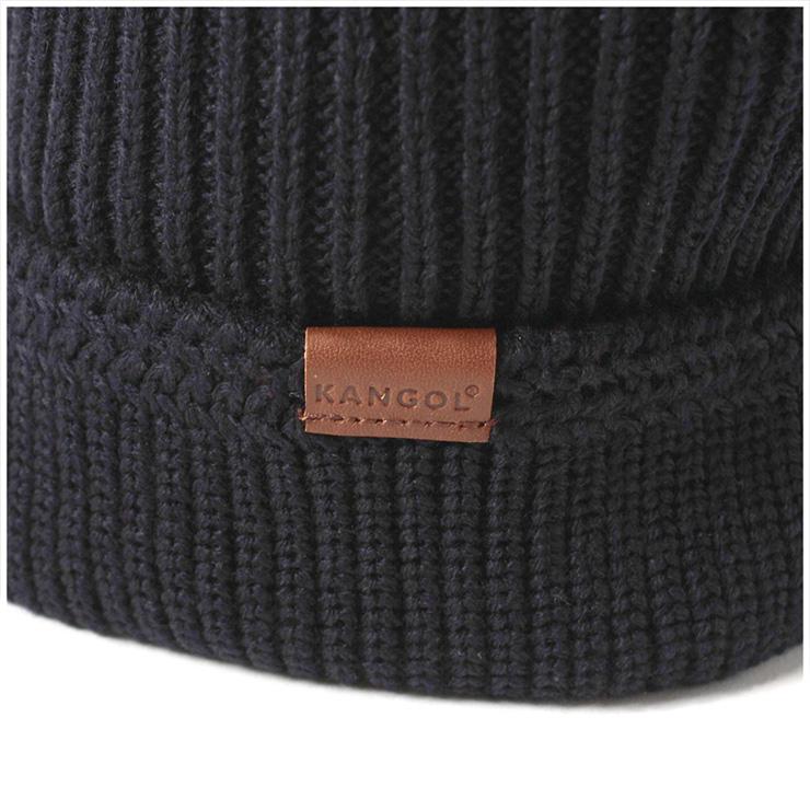 3e323a64f8e KANGOL knit caps knitting Hat squad free dark blue hats KANGOL KNIT CAP SQUAD  FULLY FASHIONED CUFF PULL-ON DK. BLUE  KT  big knit hat Cap size mens