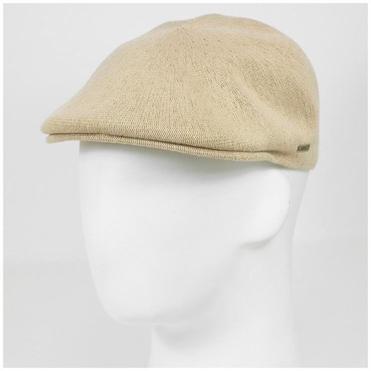 KANGOL Cap bamboo 507 beige hats KANGOL HUNTING BAMBOO 507 BEIGE newsboy cap  Hat large size mens ladies and  KH   HT 5325c570b74f