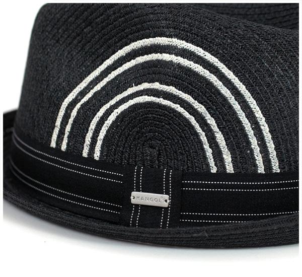 SALE sale KANGOL Hat tropic player black KANGOL ASHTON BRAID PLAYER BLACK #HA: S