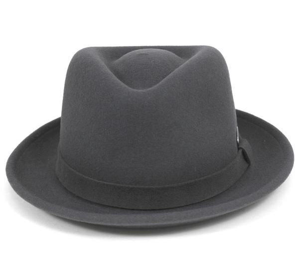 罐子球门帽子灯毡Hiro甲苯基B深灰色帽子KANGOL HAT LITEFELT HIRO TRILBY DK.GREY人[GY]#HA:F