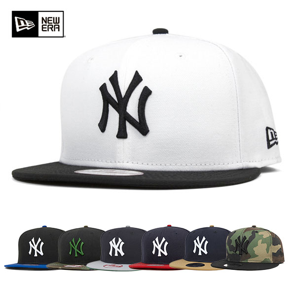75ba42506 New era Cap NY New York Yankees men's hat Snapback two-tone all 6 color ...