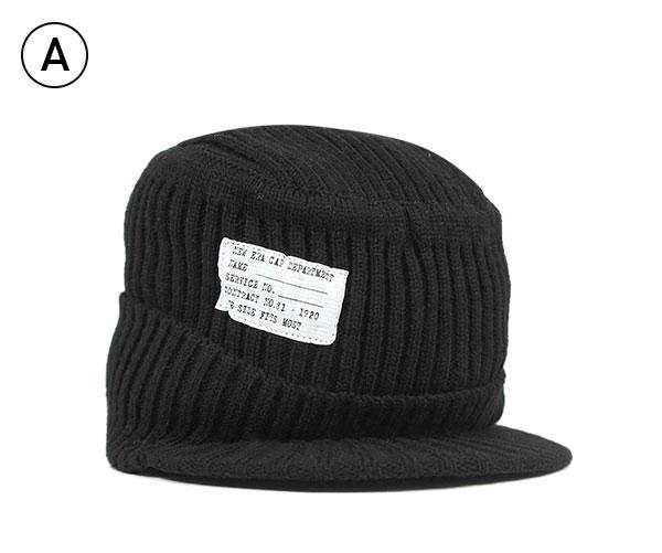 0527342e0 New era visor knit Cap knit Cap flat top men's Cap NEWERA VISOR KNIT CAP  FLAT TOP PATCH