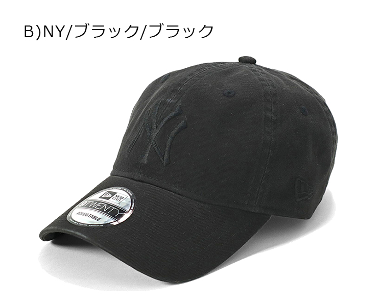 f85ee1dcd7157c ... NEWERA 9TWENTY STRAPBACK CAP WASHED COTTON NEW YORK YANKEES new era low back  strap Cap washed ...