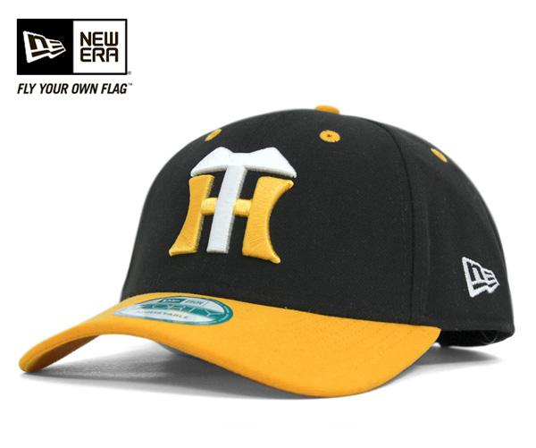 New era Cap Hanshin Tigers black cap NEWERA 9FORTY HANSHIN TIGERS BLACK #CP: S