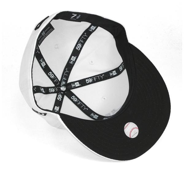新時代帽紐約洋基隊白色帽紐埃爾 59FIFTY 帽紐約洋基隊白 #CP [紐埃爾紐約州新時代的新時代,紐埃爾帽新時代洋基]、 [WH]: B