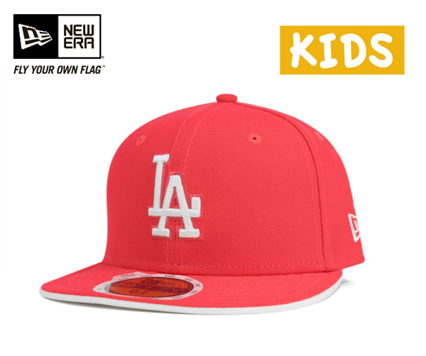 New era kids caps Los Angeles Dodgers lava Red cap NEWERA KIDS 59FIFTY CAP LOS ANGELES DODGERS LAVA RED #KD small cap new era cap new era caps for kids size mens ladies and [RD]
