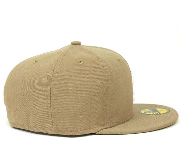 新時代帽洛杉磯道奇隊英國卡其帽紐埃爾 59FIFTY 章洛杉磯洛杉磯道奇隊英國卡其色 [新時代新時代帽帽男人],[KH] #CP: B
