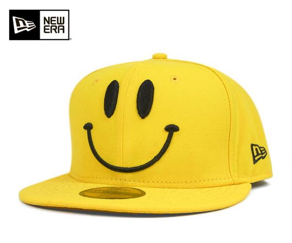 New era caps smiley yellow Cap NEWERA 59FIFTY CAP SMILE YELLOW [large cap new era cap new era Cap size mens ladies], [YL] #CP: B