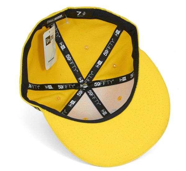 新時代帽笑臉黃帽紐埃爾 59FIFTY 帽微笑黃色 #CP: B
