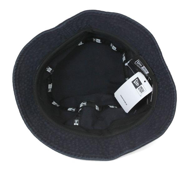 onspotz  New era bucket Hat washed cotton Navy Cap NEWERA BUCKET-02 ... 1a0f490bb2f0