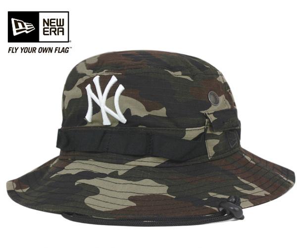565710d1d46 ... wholesale new era bucket hat ripped new york yankees woodland camo cap  newera bucket hat ripd