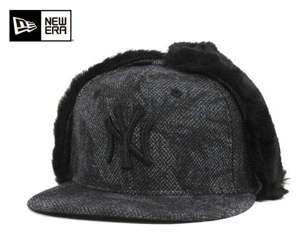 6629915d0 One spots another note new era Cap New York Yankees dog ear Tweed real  tricamo Black ...