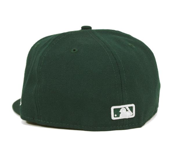 [] 新時代帽洛杉磯道奇隊深綠色帽紐埃爾 59FIFTY 章洛杉磯洛杉磯道奇隊暗綠色 [GN] #CP: B