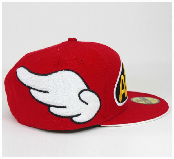 X 博士坍落度協作帽紐埃爾 Arale 陳 Red Hat x Dr.SLUMP 59FIFTY #CP 新時代章新時代新時代協作與章新時代的帽子紐埃爾紐埃爾帽新時代合作的新時代帽子男士大尺寸,[RD]: B