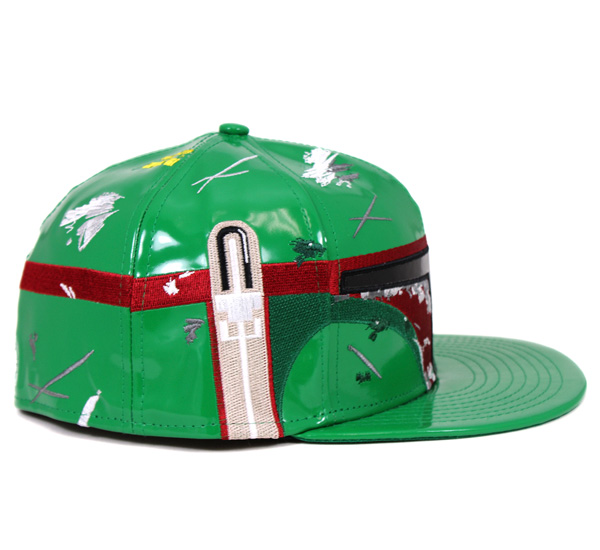New era x Star Wars Cap character face classics Boba Fett Green Hat NEWERA×STAR WARS 59FIFTY CAP CLASSIC BOBA FETT GREEN [GN] #CP: B