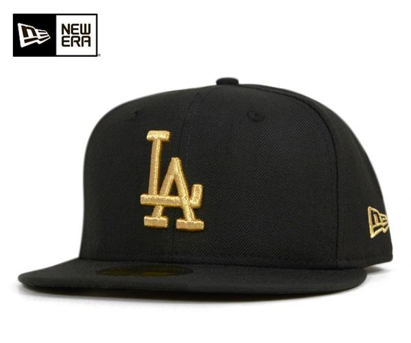 383b75a3759 New era Cap Los Angeles Dodgers black NEWERA 59FIFTY LOS ANGELES DODGERS  BLACK METALLIC GOLD  CP  B