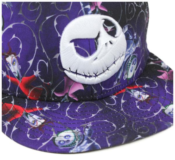 新时代 x 恶梦在圣诞帽各地紫色帽子纽埃尔之前 × 噩梦前圣诞 59FIFTY 帽全身紫色新时代司参加帽帽纽埃尔盖新时代帽男人大尺寸,[PL] #CP: B