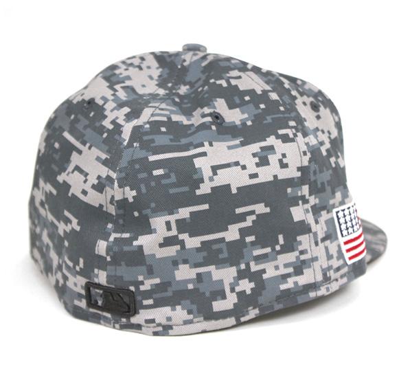 新埃拉盖子纽约扬基队数码野鸭灰色帽子NEW ERA 59FIFTY CAP NEW YORK YANKEES DIGITAL CAMO GRAY[新埃拉盖子扬基队帽子NEW ERA CAP人][GY]#CP:B