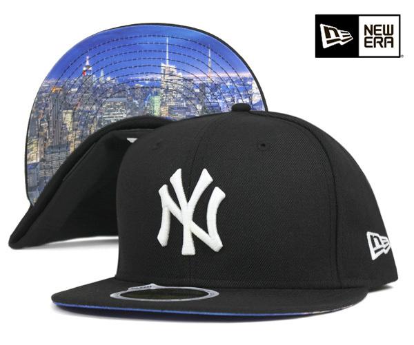af5ba41a525 usa new era cap new york yankees city landscape night view glow in the dark  black