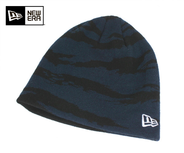 New era knit Cap knit Cap basic Beanie Tiger Stripe Camo Navy Cap NEWERA  KNIT CAP BASIC BEANIE TIGER STRIPE CAMO NAVY  knit hat men s hats knit CAP 5659747619b9