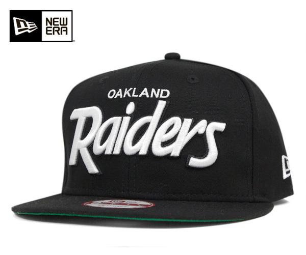 9b25f65a New era Cap Snapback script Oakland Raiders Black Hat NEWERA 9FIFTY NFL  OAKLAND RAIDERS SCRIPT SNAPBACK BLACK #CP: S