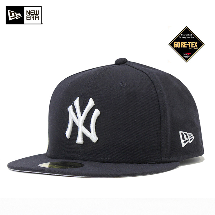 New era x Gore-Tex CAP New York Yankees Navy Hat NEWERA×GORE-TEX 59FIFTY CAP  NEW YORK YANKEES NAVY  CP  new era Cap Yankees Hat NEW ERA CAP men  56bea0a02bd