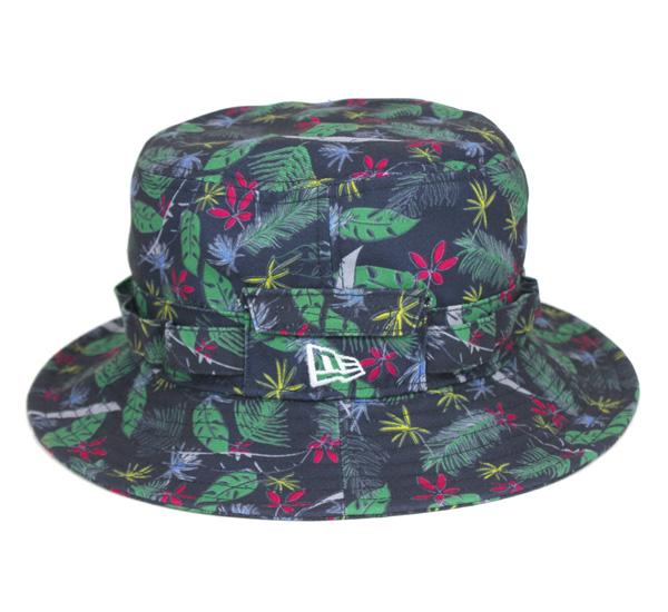 新埃拉×戈爾紡績品高爾夫球冒險帽子熱帶帽子New Era×GORETEX GOLF ADVENTURE HAT TROPICAL[新埃拉蓋子帽子New Era CAP人][NV]#HA:O