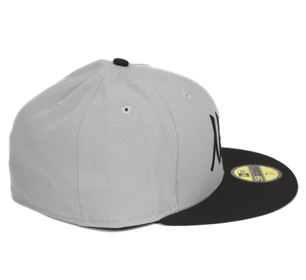 low priced 42127 c8331 ... New era Cap Brooklyn nets old script grey Cap NEWERA 59FIFTY CAP NBA  BROOKLYN NETS OLD ...