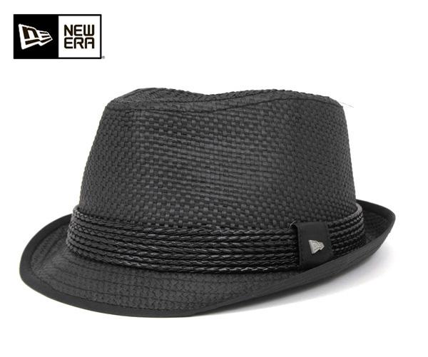 New era ice collection Hat Fedora Black Hat The New Era EK Collection HAT HUXLEY FEDORA BLACK EK new era ice collection large size mens ladies and [BK] #HA: S