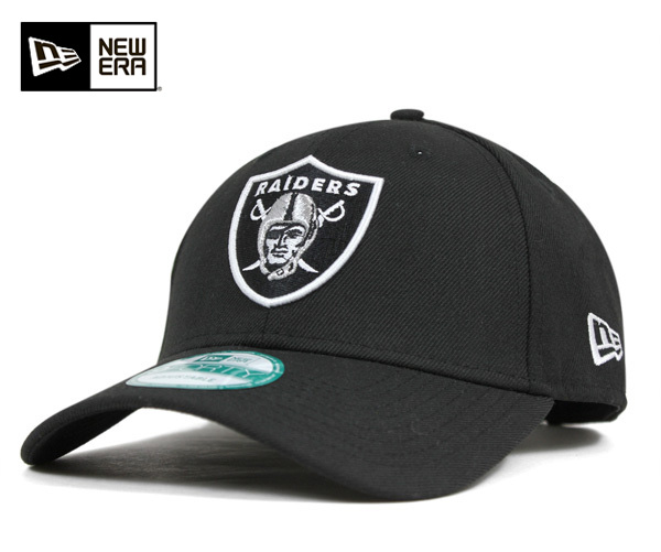 New era strap back Cap Oakland Raiders Black Hat NEWERA 9FORTY STRAPBACK  CAP OAKLAND RAIDERS BLACK  CP  NEW ERA CAP new era caps Hat men  61d1528b0f9