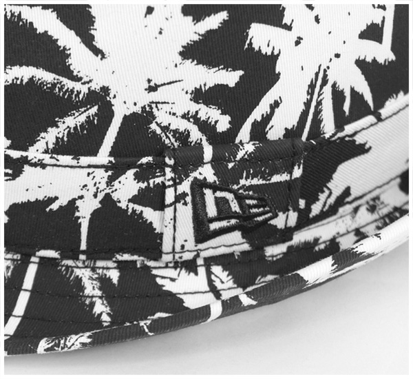 新埃拉甲苯基B帽子珀姆树黑色帽子New Era TRILBY HAT PALM TREE BLACK[新埃拉盖子帽子New Era CAP人]