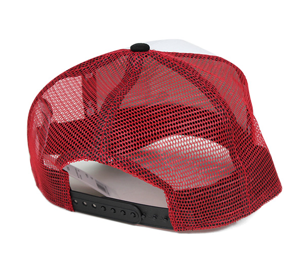 新时代 x 一片网帽小腿白帽子纽埃尔 × yonepiece 9fyorty 网帽 D 框架 TRUCER 掸族白 #CP 上网格帽男式帽子帽,[WH]: M