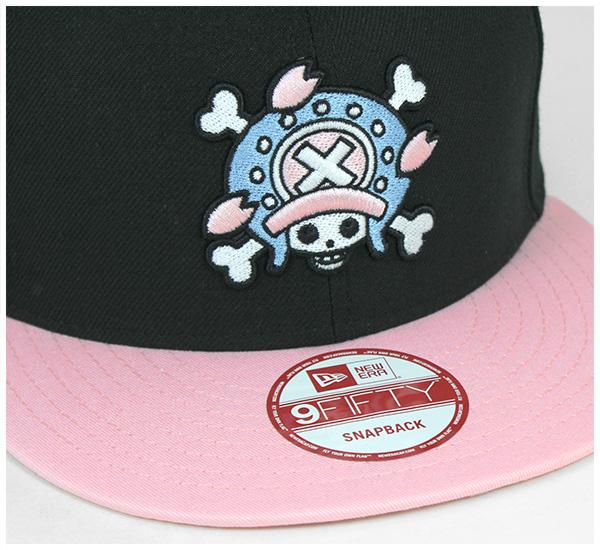 新埃拉连衣裙突然弹回盖子斩波器黑色帽子NEW ERA ONEPIECE 9FIFTY SNAPBACK CAP CHOPPER BLACK[盖子人帽子突然弹回][BK]#CP:S