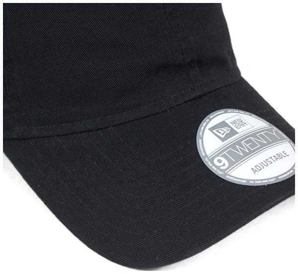 新时代低水洗的棉带回帽子帽所有 6 都色纽埃尔 9TWENTY STRAPBACK 章洗棉。