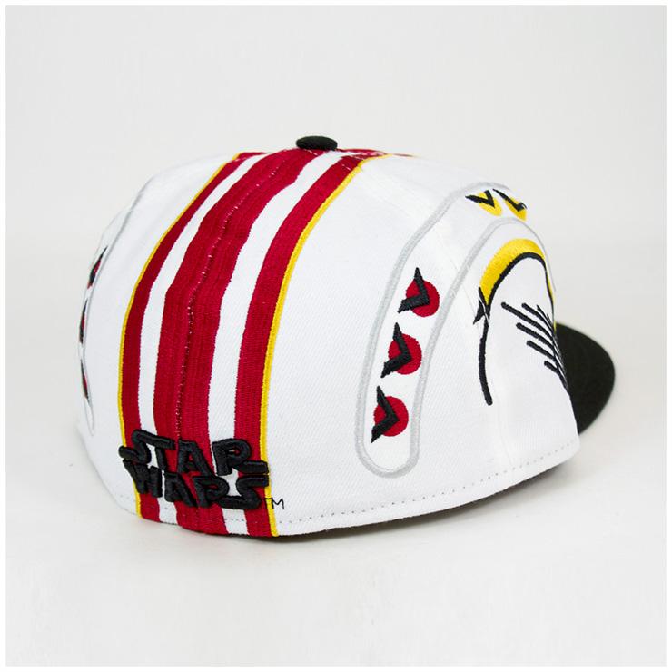 新埃拉×sutauozukyappuroguwan X uingupairottooputikkuhowaito帽子New Era×STAR WARS 59FIFTY CAP ROGUE ONE X-WING PILOT OPTIC WHITE