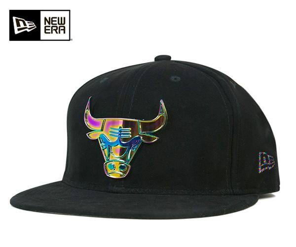 ニューエラ キャップ 59FIFTY NBA シカゴ ブルズ デラックス スウェード ブラック NEW ERA 帽子 メンズ レディース 【返品・交換対象外】