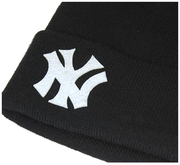 sale retailer 82456 46ca1 New era knitting caps knitting Hat New York Yankees basic cuff team logo  black cap NEWERA KNIT CAP MLB NEW YORK YANKEES BASIC CUFF TEAM LOGO BLACK
