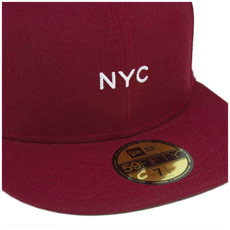 New era Cap mini Cardinal Cap NEWERA 59FIFTY CAP NYC MINI CARDINAL