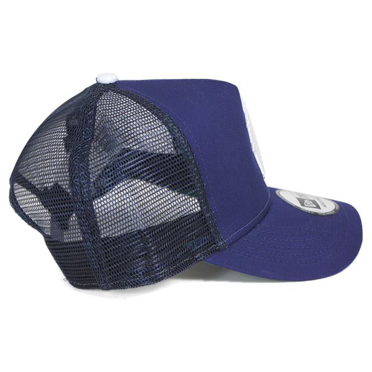1955 brooklyn dodgers cap new gills mesh trucker royal hat era baseball