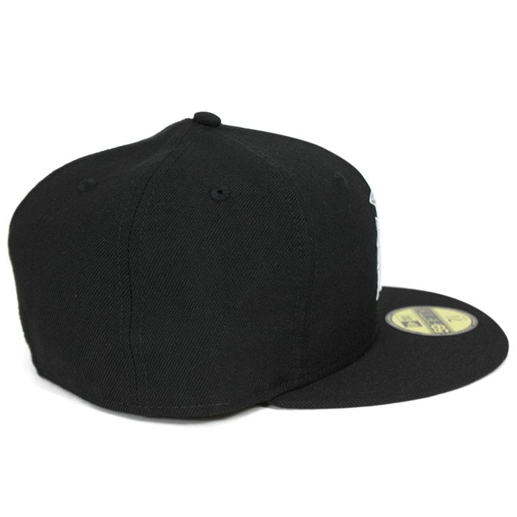 新埃拉蓋子日本火腿戰士黑色帽子NEW ERA 59FIFTY CAP NPB NIPPON HAM FIGHTERS BLACK