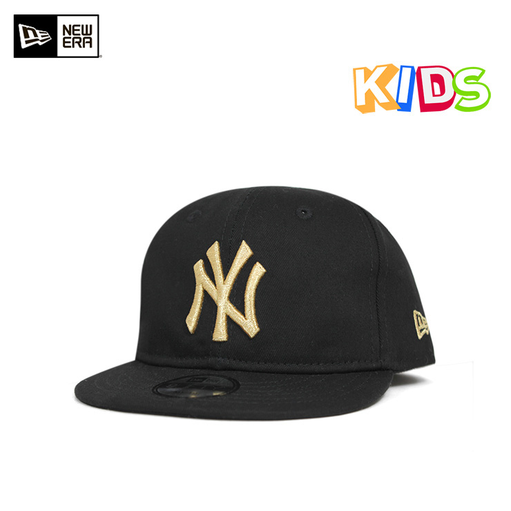 New gills my first snapback cap New York Yankees black hat NEW ERA MY 1ST  9FIFTY SNAPBACK CAP MLB NEW YORK YANKEES BLACK b45d79902f1