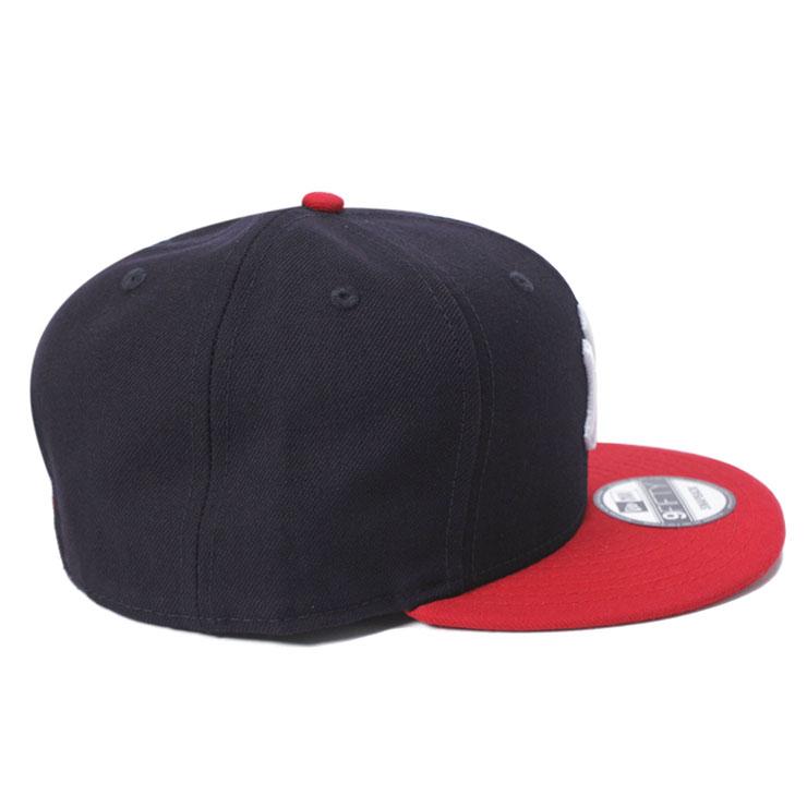 2d19a5ffa5b08 ニューエラ NEW ERA 9FIFTY スナップバックキャップ MLB ニューヨークヤンキース ネイビー/レッド 11308468 帽子 メンズ  レディース ベースボールキャップ