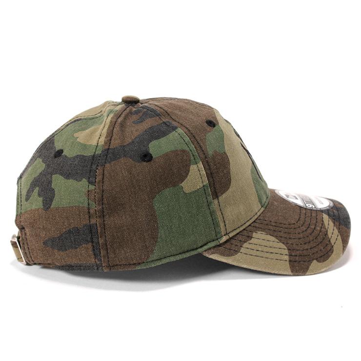 760c97416f5453 ... New era strap back Cap washed cotton New York Yankees Woodland Camo Cap  NEWERA 9TWENTY WASHED ...