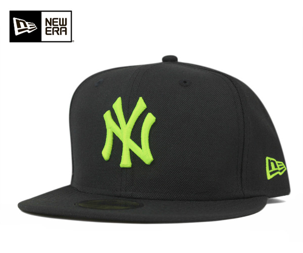 4b0b0c29 New era Yankees black / neon yellow NEWERA NEW YORK YANKEES BLACK/NEON  YELLOW ...