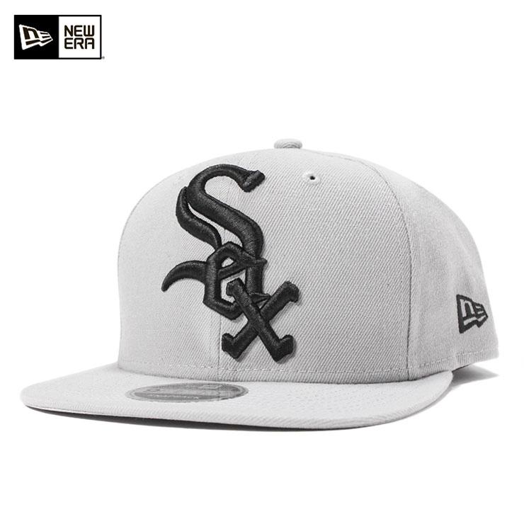 f84aee44d8b New gills 9FIFTY snapback cap original fitting MLB Chicago White Sox ground  logo gray NEW ERA